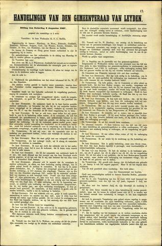 Handelingen van de Raad 1867-08-03