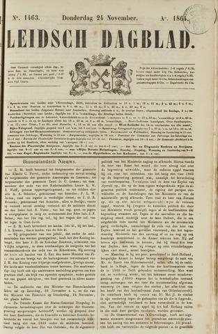 Leidsch Dagblad 1864-11-24