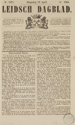 Leidsch Dagblad 1864-04-12