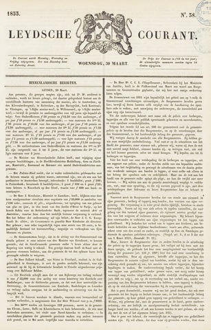 Leydse Courant 1853-03-30