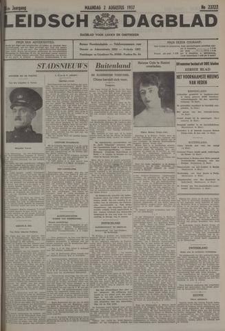 Leidsch Dagblad 1937-08-02