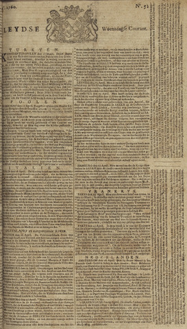 Leydse Courant 1760-04-30