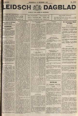 Leidsch Dagblad 1932-12-15