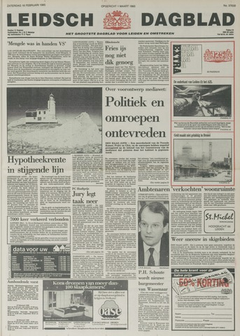 Leidsch Dagblad 1985-02-16
