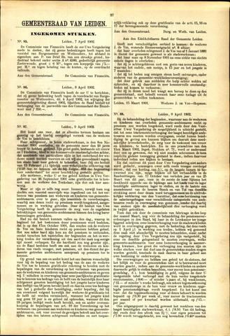 Handelingen van de Raad 1902-04-07