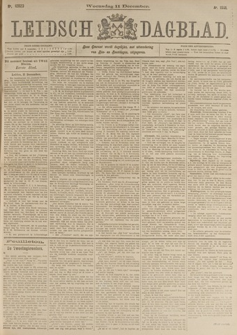Leidsch Dagblad 1901-12-11