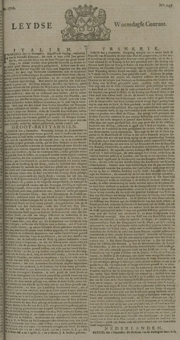 Leydse Courant 1722-12-09
