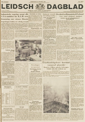 Leidsch Dagblad 1954-03-24