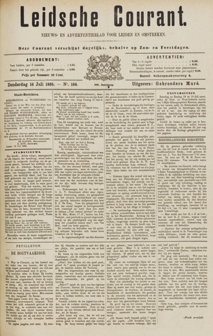 Leydse Courant 1885-07-16