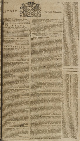 Leydse Courant 1773-01-22