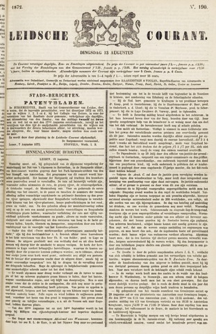 Leydse Courant 1872-08-13