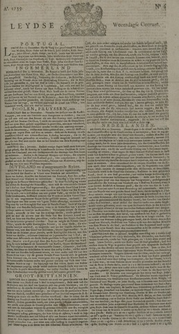 Leydse Courant 1739-01-14