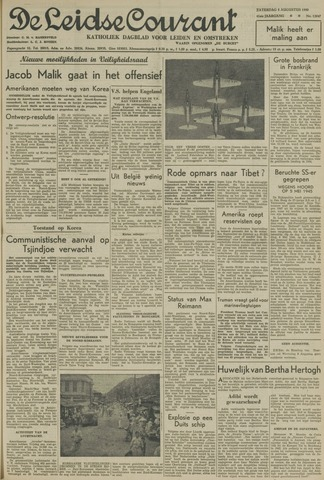 Leidse Courant 1950-08-05