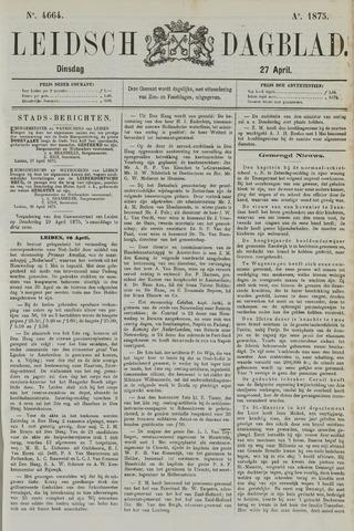 Leidsch Dagblad 1875-04-27