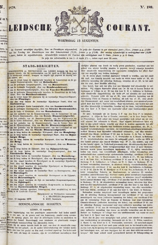 Leydse Courant 1879-08-13