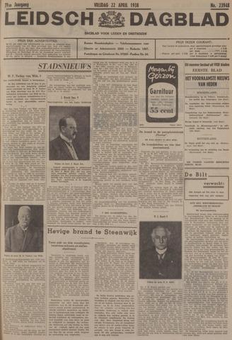 Leidsch Dagblad 1938-04-22