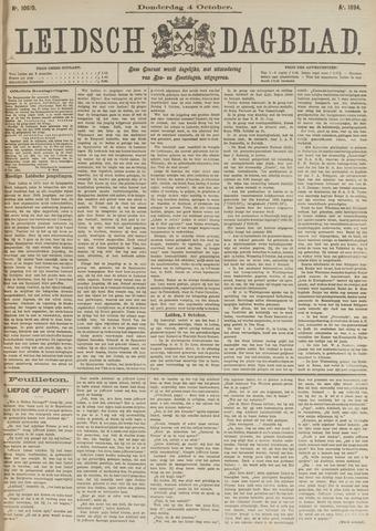 Leidsch Dagblad 1894-10-04