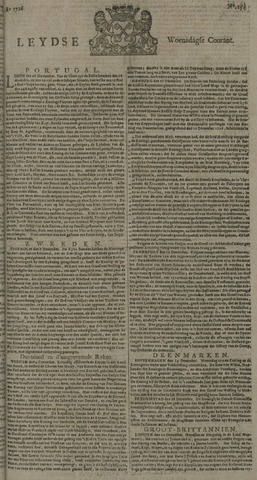 Leydse Courant 1726-12-25