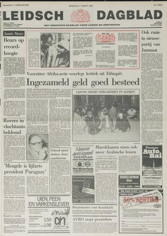 Leidsch Dagblad 1985-02-11