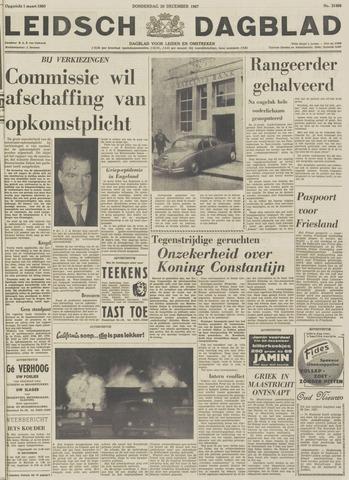 Leidsch Dagblad 1967-12-28