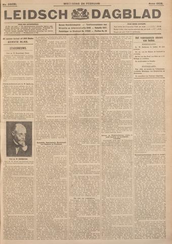 Leidsch Dagblad 1926-02-24