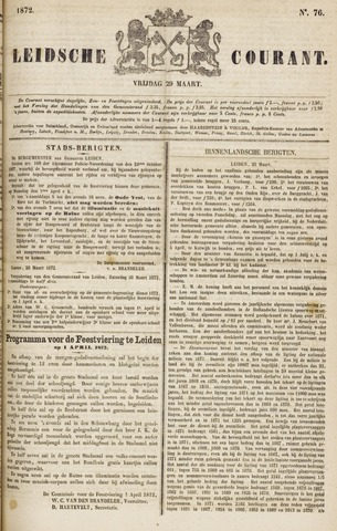 Leydse Courant 1872-03-29