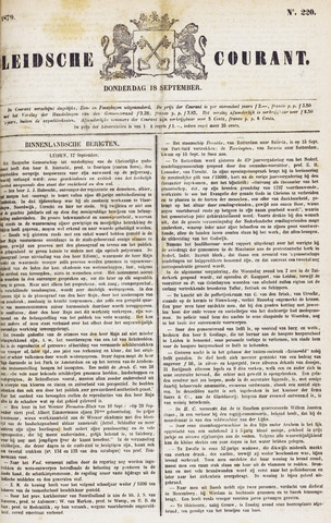 Leydse Courant 1879-09-18