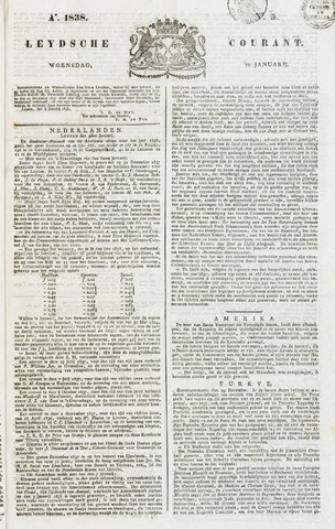 Leydse Courant 1838-01-10