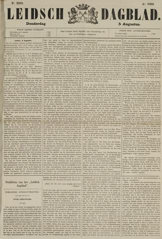 Leidsch Dagblad 1869-08-05