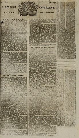 Leydse Courant 1803-11-25