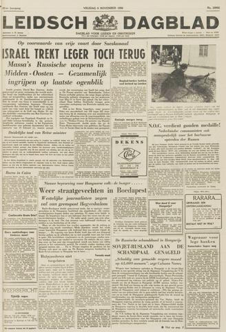 Leidsch Dagblad 1956-11-09