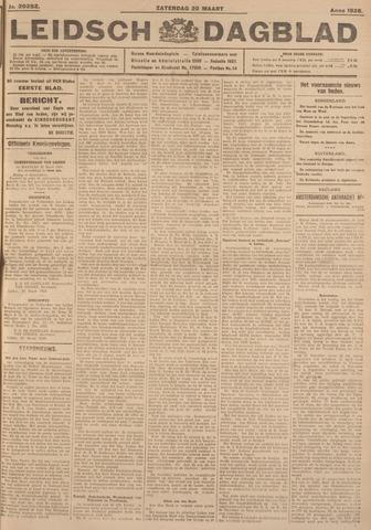 Leidsch Dagblad 1926-03-20
