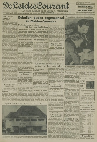 Leidse Courant 1958-04-10