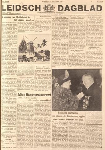 Leidsch Dagblad 1949-11-16