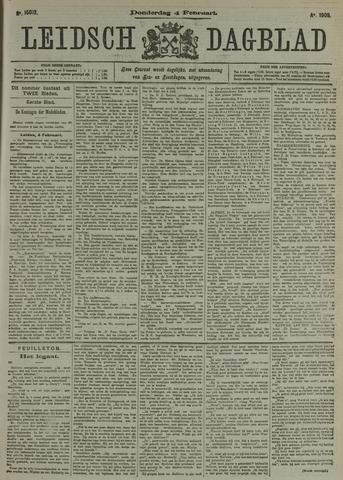 Leidsch Dagblad 1909-02-04