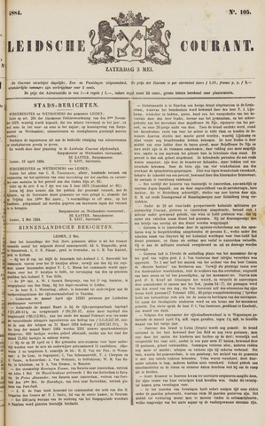 Leydse Courant 1884-05-03