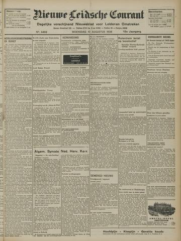 Nieuwe Leidsche Courant 1938-08-10