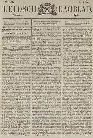Leidsch Dagblad 1878-04-18