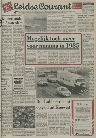 Leidse Courant 1984-11-29