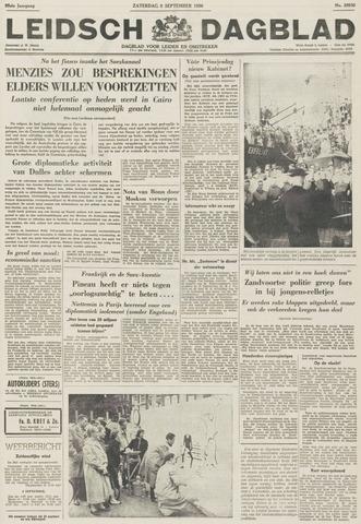 Leidsch Dagblad 1956-09-08