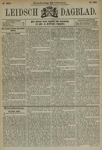 Leidsch Dagblad 1890-10-16