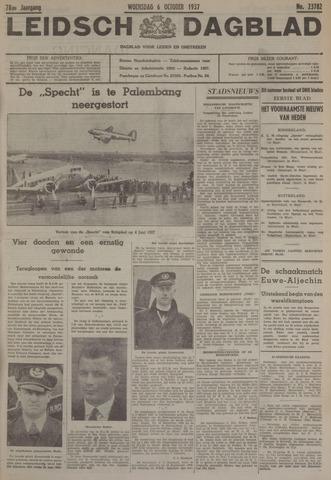 Leidsch Dagblad 1937-10-06