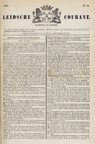 Leydse Courant 1883-01-13