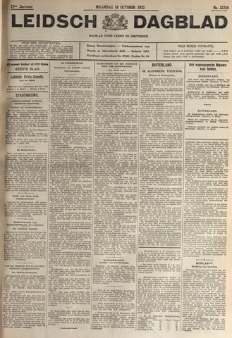 Leidsch Dagblad 1932-10-10