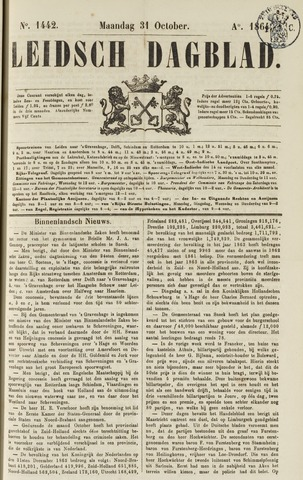 Leidsch Dagblad 1864-10-31