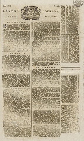 Leydse Courant 1815-06-09