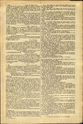 Handelingen van de Raad 1877-02-28