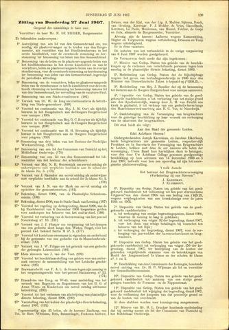 Handelingen van de Raad 1907-06-27