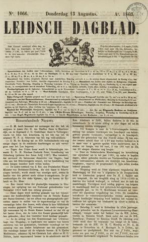 Leidsch Dagblad 1863-08-13