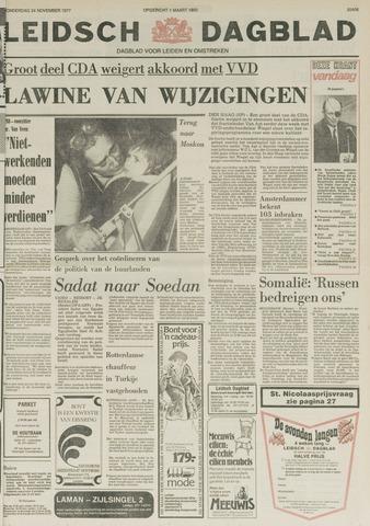 Leidsch Dagblad 1977-11-24